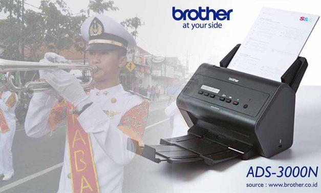 """Digitalisasi Berkas """"Partitur"""" Lebih Mudah dengan Scanner Brother ADS-3000N"""