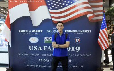 Perpaduan Kuliner Indonesia dan Amerika pada USA Fair 2019