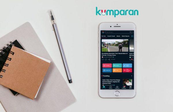 Website berita online kumparan